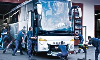 Diseño, explotación y mantenimiento de autobuses y autocares