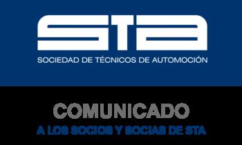 Comunicado a los socios y socias de STA
