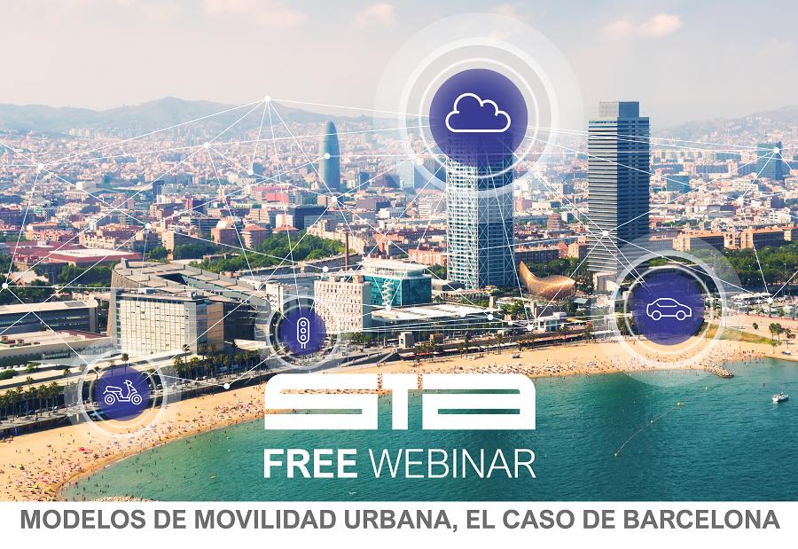 STA Free Webinar: Modelos de movilidad urbana, el caso de Barcelona