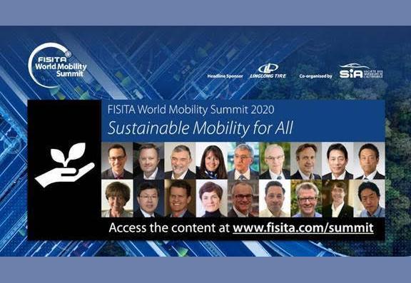 FISITA World Mobility Summit 2020 presentations and videos