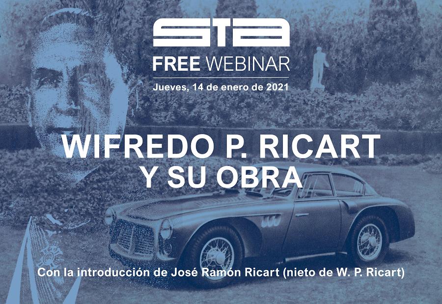 """STA free webinar """"Wifredo P. Ricart y su obra"""""""
