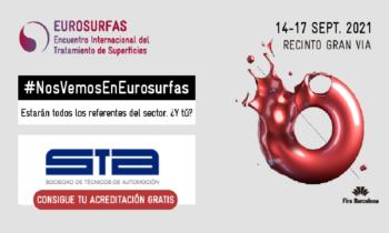 Invitaciones al EUROSURFAS para los socios de la STA